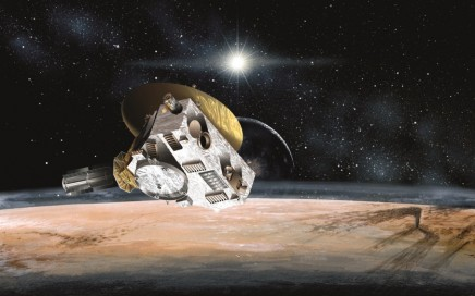 Artist's Impression of Pluto Encounter