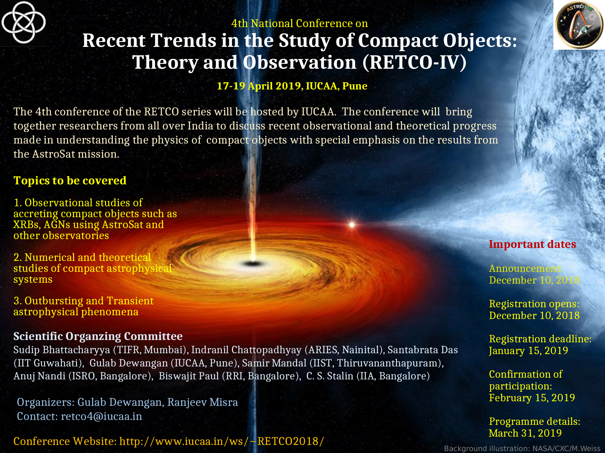 4th National Conference on Recent Trends in the Study of Compact